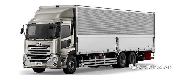 UD又出新车型已于日本上市Quon日间驾驶室载货车创意满满