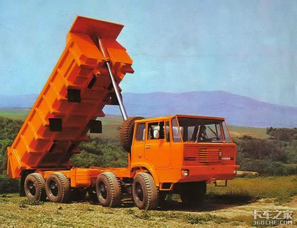 TATRA近50年最辉煌的成就,扒一扒T813重型卡车发展史