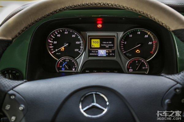 奔驰MP4牵引车南美开售,市场反响却不如MP3.5,果真是老车更香?