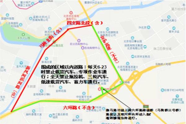 货车司机注意:北京7区全面限行蓝牌轻卡