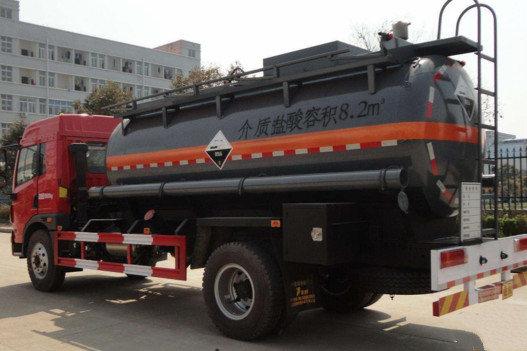 深圳:6月8日起对外地危化品运输车限行