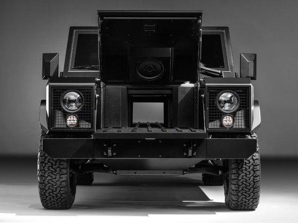 "Bollinger皮卡新专利:""贯穿""技术让超长货物从后备箱穿至卡车前部"