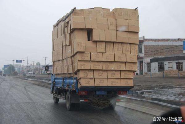 超载者扣6分罚款上千部分省市开始严查4米2货车