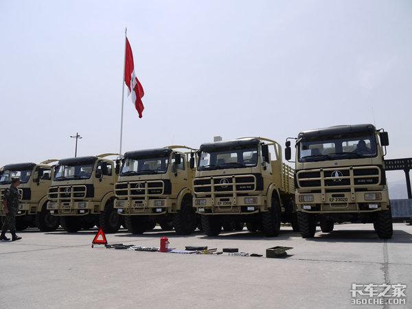 德国奔驰技术,底盘可靠内饰实用,详解北奔NG806x6军用卡车