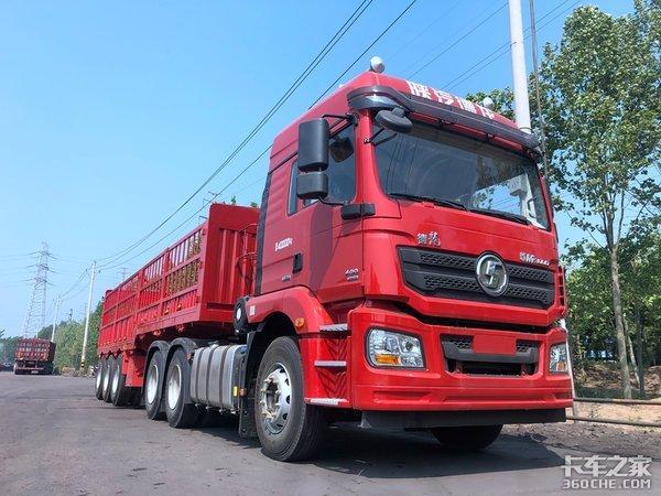 陕汽M3000底盘+10米货厢,自重仅14吨,这才是专业的拉煤车