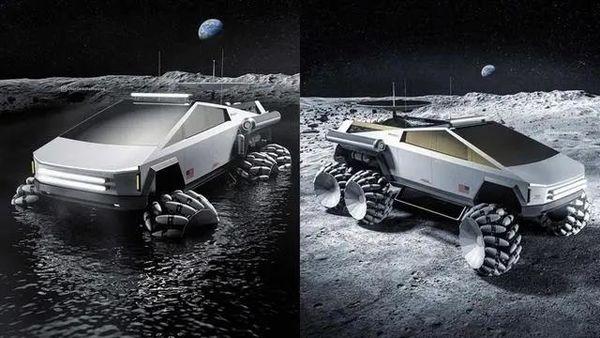 特斯拉皮卡化身月球车科幻外形毫无违和卡友:这皮卡怎么变好看了