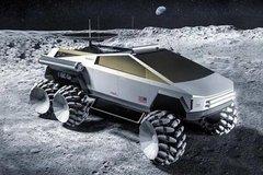 特斯拉皮卡化身月球车 外形科幻无违和