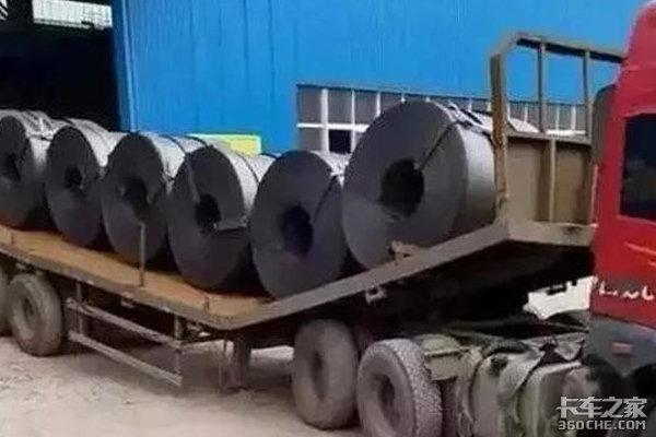 中集推出拉钢卷专用车合规且安全性高