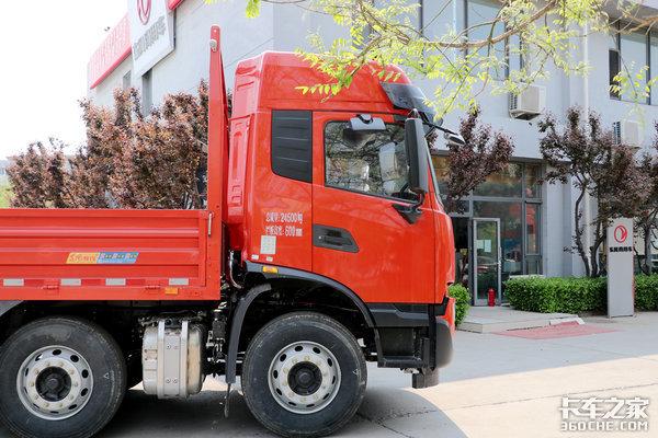 卡车新体验(14)详解9米6小三桥天锦KR