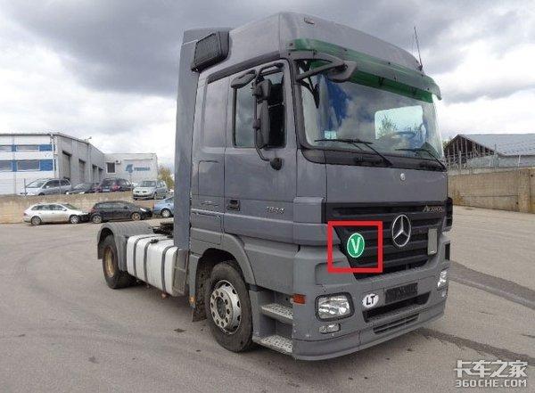 欧洲卡车前脸上的标志牌代表啥?除了TIR,其它你还了解多少?