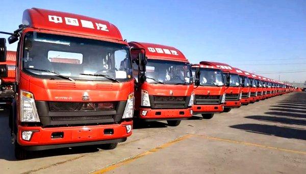 中国重汽HOWO悍将载货车报价