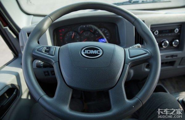 五十铃动力可靠耐用,底盘承载力强,骐铃H300配置不输大牌轻卡