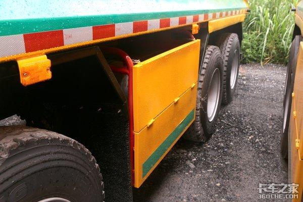 引领城建渣土行业新标杆H5渣土车实拍