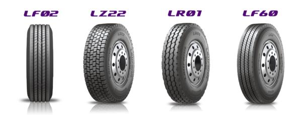 韩泰轮胎多品牌战略TBR新品牌路欧锋(Laufenn)上市