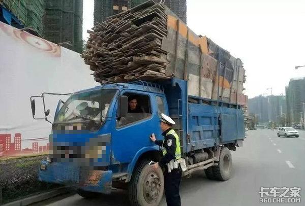 轻卡司机为啥宁愿被罚也不买黄牌货车?