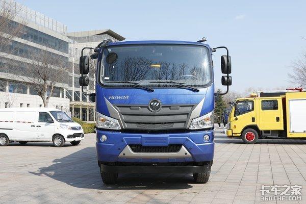 三轴4米6合规多装福田瑞沃ES3自卸车不简单