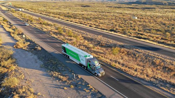 图森未来建首个无人驾驶货运网络预计5年内覆盖美国主要运输线