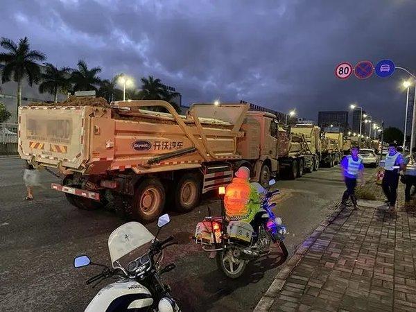 东莞集中整治货运车辆:从货车、司机、涉货企业等入手