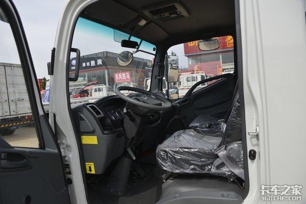车市速看:拉散货、快回本的110马力凯捷M1栏板轻卡