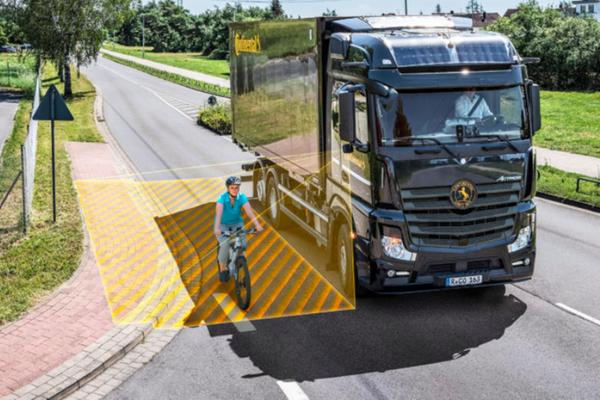大陆集团开发货车转向辅助系统充分提高货车安全性能
