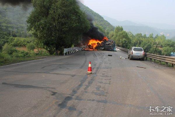 3车相撞、2台半挂起火、3人死亡,长下坡路段为啥总是悲剧不断?