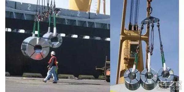货车司机拉钢卷为啥都是立式运输,平着放不是更安全吗?