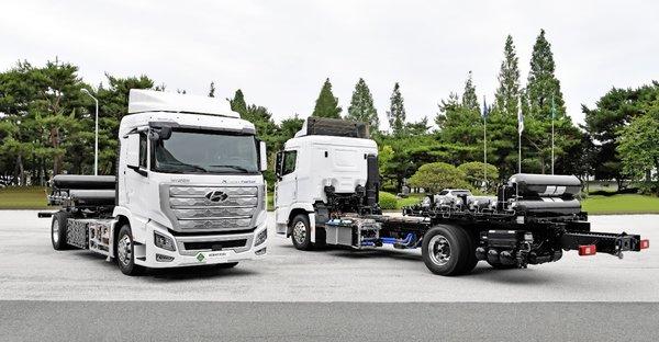氢燃料时代来了!现代氢燃料电池重卡交付瑞士续航突破400公里