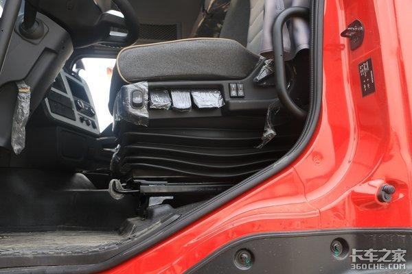 车市速看:龙擎465加持高配驾驶室锋芒毕露的天龙KL