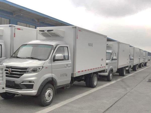 冷链专家 抢鲜到家 T50S冷藏车首批发运