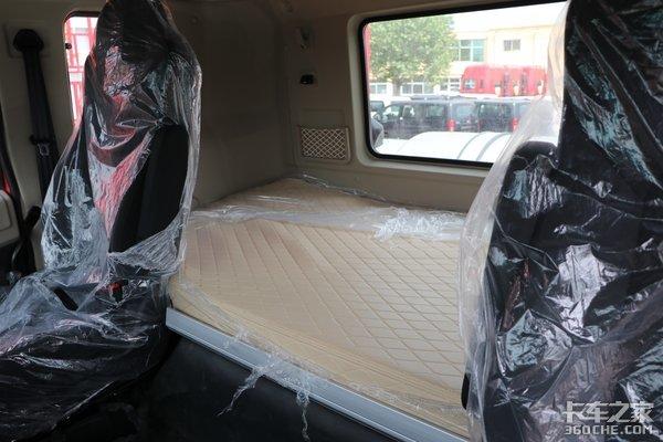 """车市速看:买燃气车送""""双人床""""这台460燃气格尔发A5躺的更舒服"""