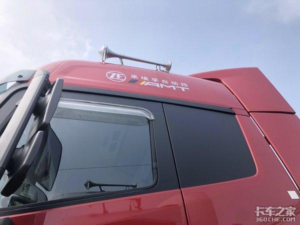专治山区动力不足,560马力的福田欧曼EST牵引车了解一下