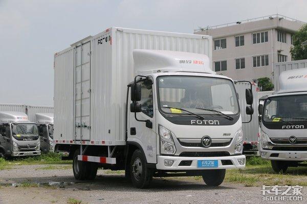 车市速看:LM4平台舒适化取向轻卡云内116马力上身的奥铃新捷运
