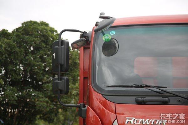 一线卡车:270马力7.4米货箱3轴小自卸