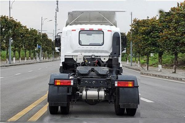 速看:自重仅4.5吨动力200匹陕汽商用短驳牵引车曝光