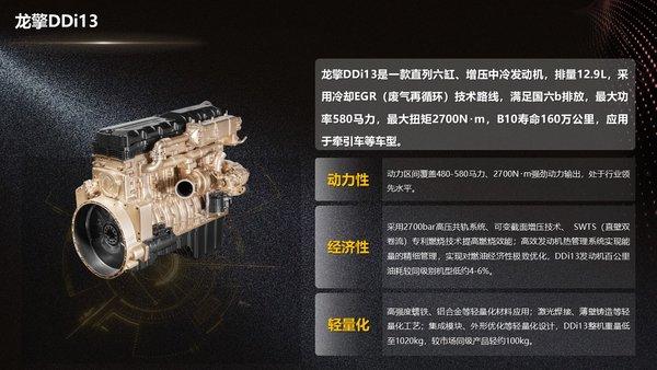 车市速看:5-13L240-580马力东风龙擎动力布局中重卡市场全阵营