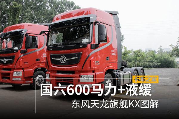 国六600马力+液缓东风天龙旗舰KX图解