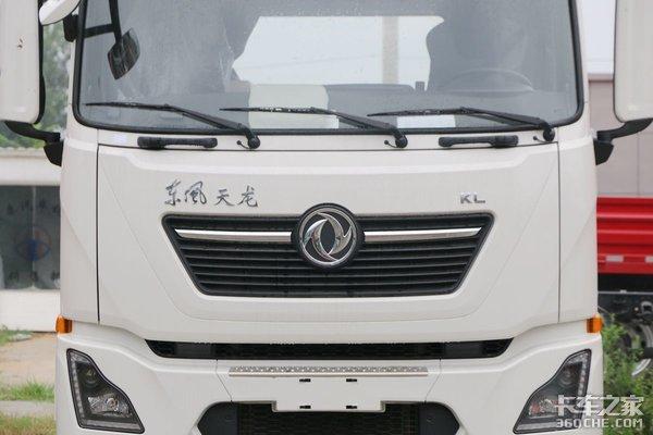 465马力+气囊桥图解东风天龙KL快递牵引车