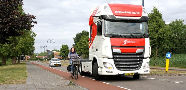 减少卡车盲区!国外又研发一个新科技