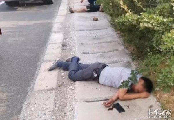 卡友应急车道内停车打架,交警哭笑不得:罚200扣6分冤不冤?