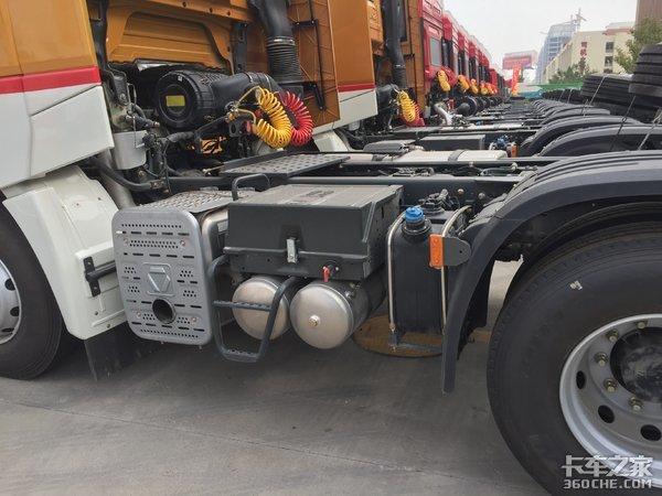 徐工�h风G9牵引车来了,550马力潍柴+法士特,干线运输利器
