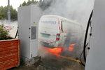 新能源货车充电中自燃 起火原因让人迷惑