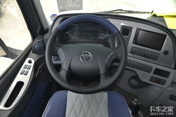 车市速看:福康560+采埃孚12挡+豪配驾驶室这台欧曼EST还缺点啥?