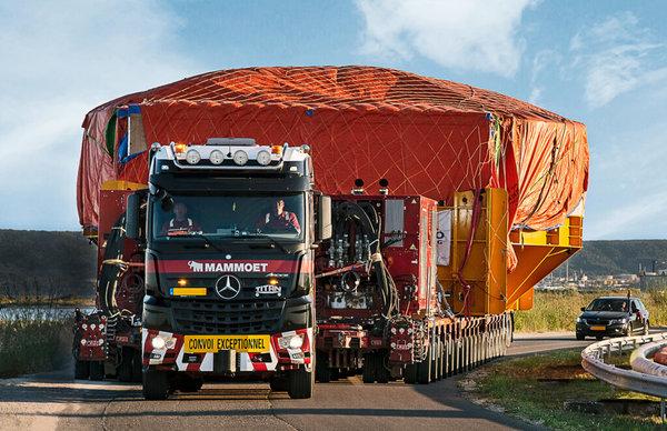 百吨王都汗颜430吨核能发电线圈2台阿克托斯搞定