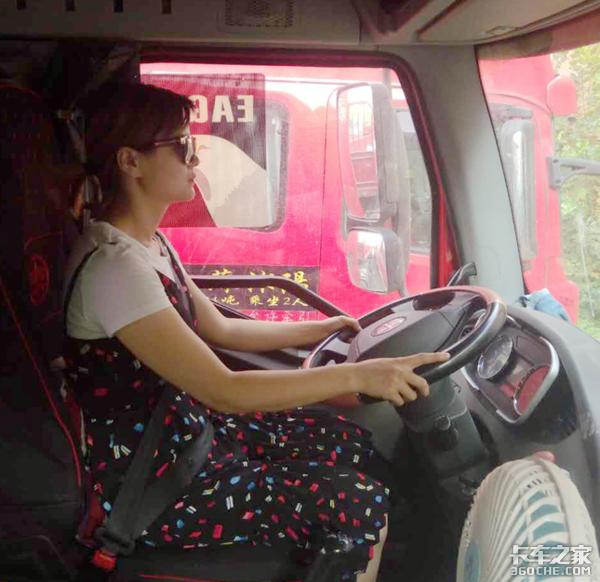 """卡车版""""乘风破浪的姐姐""""来了探寻女卡友的货运人生"""