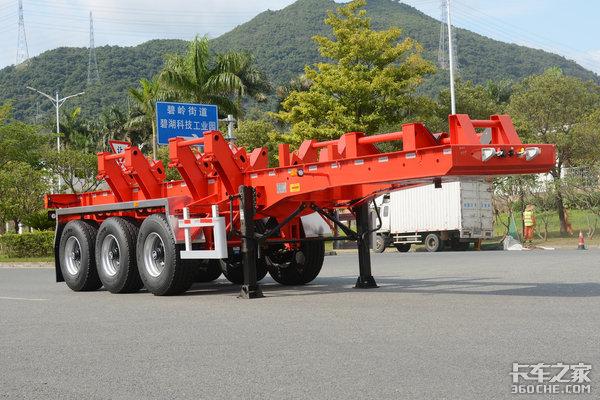 车市速看:中集推钢卷运输车5吨自重最多可装4卷