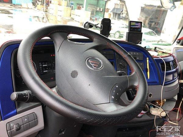 没钱买进口卡车?看看这台搭载奔驰发动机欧曼EST能不能满足你