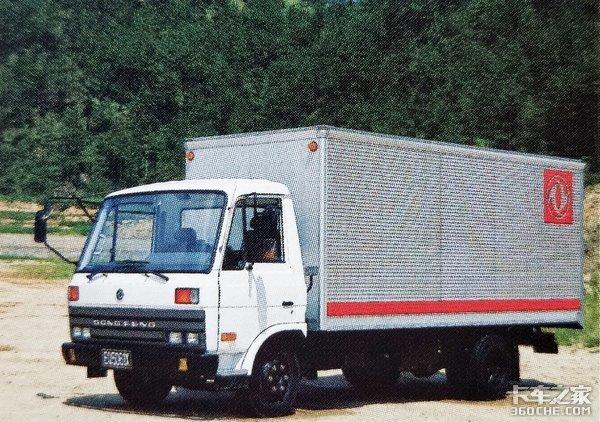 90年代诞生,东风多利卡由它演变而来,EQ1061轻卡了解一下