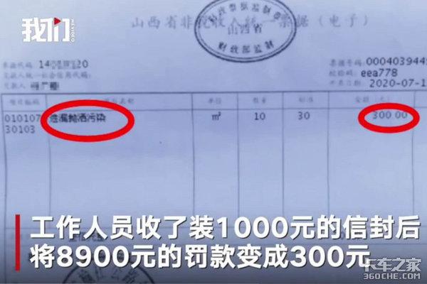 卡友拍下路政受贿,8900元罚款直接改300,谁给的权力?