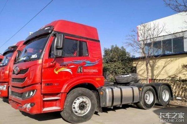 新车到店沧州悍V牵引车仅售29.1万元