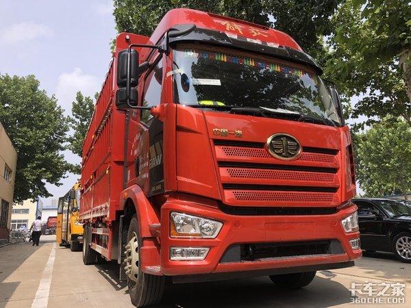 中卡价格,重卡配置,2020款解放J6L载货车全面升级